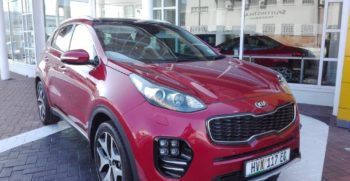 2016 Kia Sportage 1.6 Diesel Metallic Red
