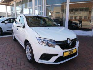 White Renault Sandero for sale