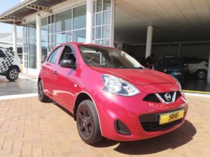 Nissan Mirca red for sale