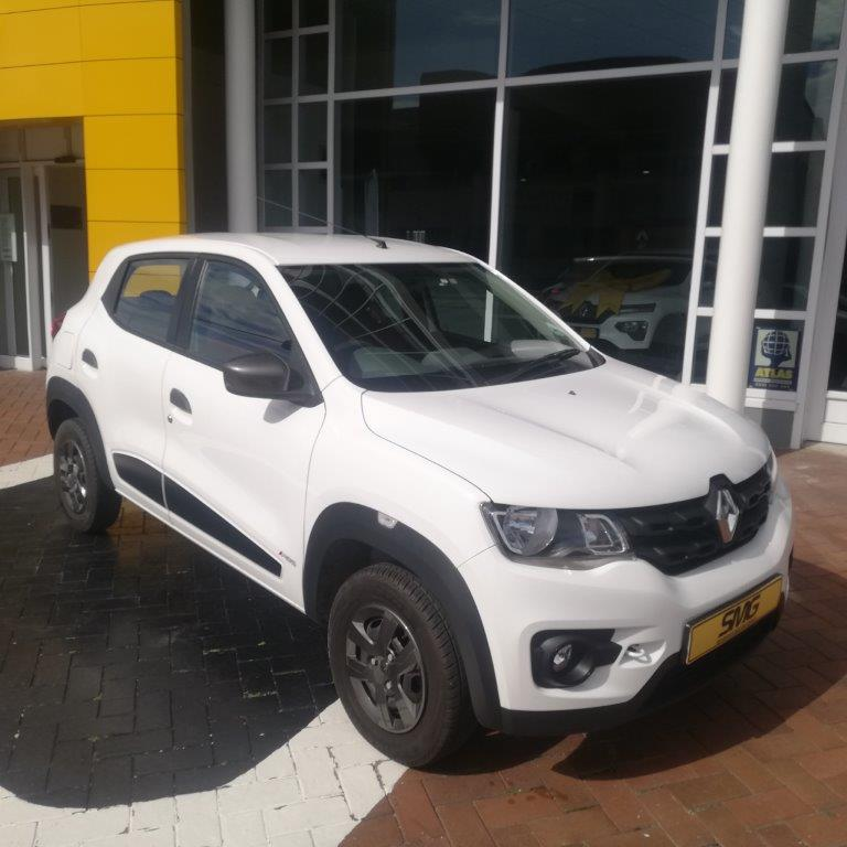 2017 Renault Kwid 1.0 Dynamique 5 Door Hatchback in glacier white
